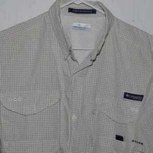 Columbia short sleeve mens shirt size L J1066